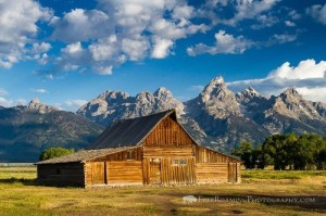 Moulton Barn, Grand Teton National Park, Wyoming. Who said heaven doesn't exist?