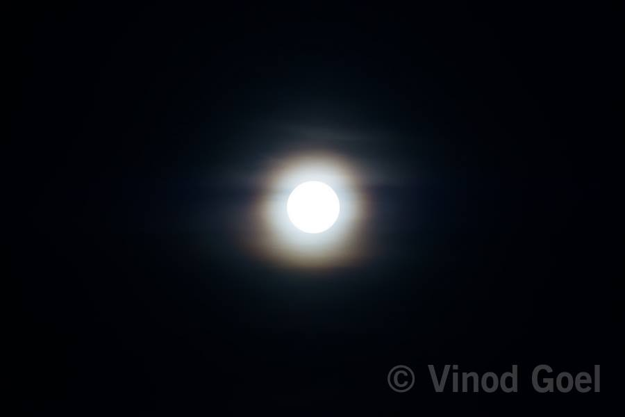 Full Moon at Delhi
