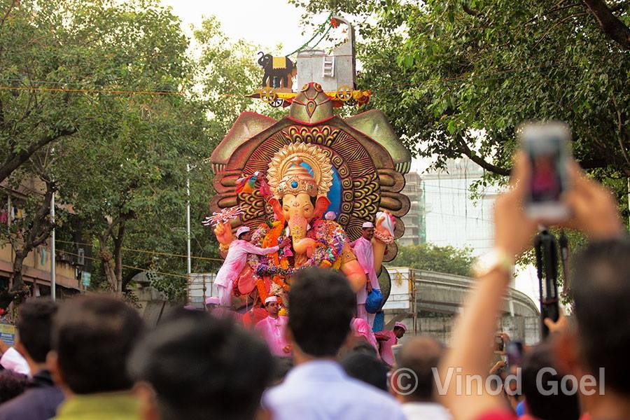 Ganpati visarjan at Mumbai